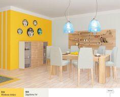 żółta ściana w kuchni - Szukaj w Google