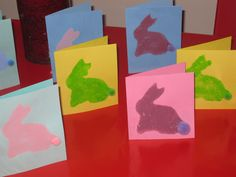 No nursery today, and in an effort to take my mind off the impending birthday party tomorrow, we've been making stuff! We made some Easte. Rabbit Crafts, Bunny Crafts, Easter Crafts, Crafts For Kids, Spring Crafts, Holiday Crafts, Holiday Fun, Hoppy Easter, Easter Bunny