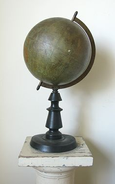 19th Century French Globe at my boutique!