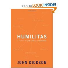 leadership book about humility. not a well-discussed attribute