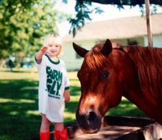 You Might Be a Farm Kid... A list of 25 signs you grew up on a farm. I especially like 10!