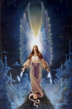 god angels pictures | Angel of God, my holy guardian, given to me from heaven, enlighten ...