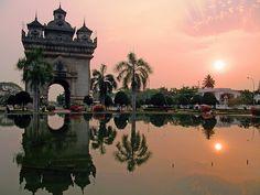Victory Monument, Vientiane | LAOS