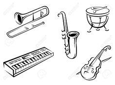 saxophone silhouette - Buscar con Google
