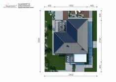 Projekt domu HomeKONCEPT-26 | HomeKONCEPT Modern House Design, Bungalow, Building A House, House Plans, New Homes, Floor Plans, How To Plan, Farm 2, Villa