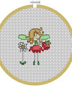 July Fairy Cross Stitch Crazy  Issue 165 July 2012 Saved