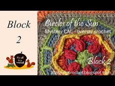 Circles of the Sun - CAL - Block 2   LillaBjörn's Crochet World