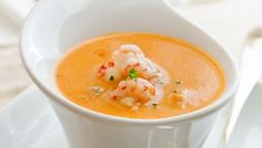 Lobster (or crab) Bisque, Low Carb, made with butter, cream cheese, chicken broth, etc
