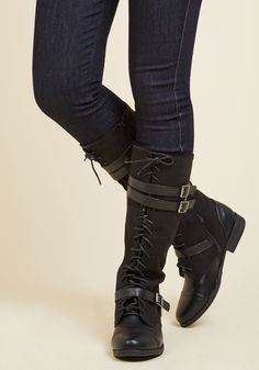3ddf646d7 Band at Attention Boot in Black