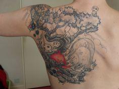 Tattoo miyazaki by ~kr0mat1k on deviantART