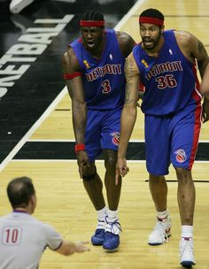 1000+ images about Pistons on Pinterest | Ben wallace, Detroit pistons and NBA