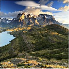 Patagonia, Chile  South America is my favorite continent.