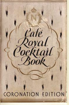 EUVS - Cafe Royal Cocktail Book