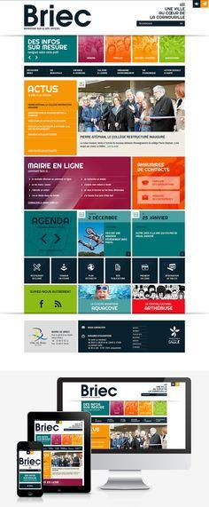#Webdesign #Responsive #Mairie #Ville #Colterr: le nouveau site Internet de la ville de Briec (29) : http://ville-briec.fr by @elysta44