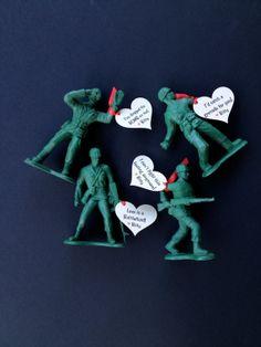 Jumbo Army Men Valentine #valentines #army #armymen