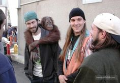 Image result for jay and silent bob behind the scenes