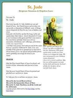 Novena to st jude my patron saint he never fails me ever saint jude novena thecheapjerseys Images
