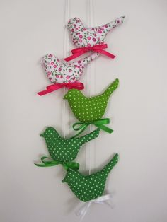 Tilda birds ptaszki Tilda handmade 'created by BB'