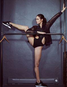A Star Ballerina's Workout Takes Center Stage - Melanie Hamrick | wmag.com