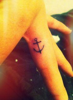 my little anchor tat!