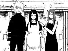 Why can this no be real?! This would've been perfect!!!! Minato, Kushina, and PREGNANT Hinata.