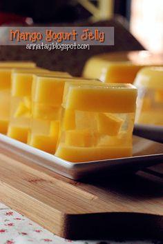 小雨伞の天空: 芒果酸奶燕菜 Mango Yogurt Jelly