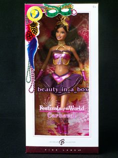 Carnaval New Year Festivals of the World Barbie Doll Dolls Brazil