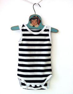 Retro Stripe One Piece Bathing Suit  73288c448d34