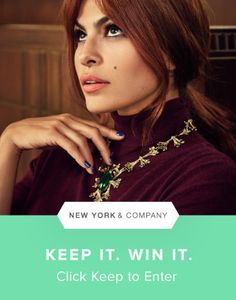 Enter for a chance to win this gorg necklace from the @evamendes Collection for @nyandcompany. #evamendesnyc