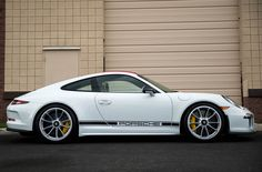 Porsche 911R Side Profile by cyanight7