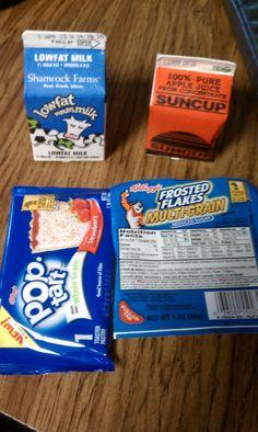 Back to the usual. School Breakfast, Childhood Obesity, Multigrain, Tart, Pure Products, Food, Pie, Essen, Tarts