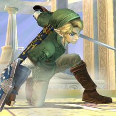 Link, SSBB, my FAVORITE character of all!!! :)