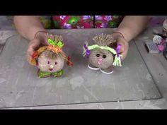 Хочу показать, как из бобин от скотча и другого бросового материала можно сделать простого домовёнка. Также можете посмотреть другие мои видео обзоры и Масте... Jute Crafts, Dyi Crafts, Creative Crafts, Crafts For Kids, African Art, Polymer Clay, Teddy Bear, Dolls, Handmade
