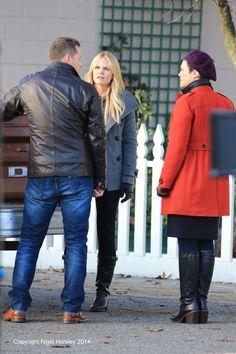Josh, Jennifer and Ginnifer - Behind the scenes - 4 * 13 - 2nd December 2014