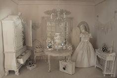 la casa di lu: we have a bride! miniature in 1/12 scale