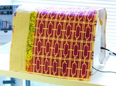 How to Sew: A Reversible Sewing Machine Cover