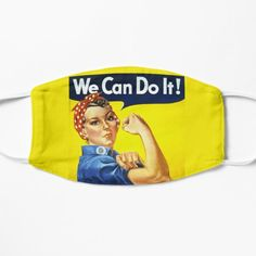 We Can Do It Masks for kids and adults by Scar Design. Stay Safe in Style with cool Cloth Masks. Buy yours at my #redbubble store $16.76 (*$13.41 when you buy 4+) #wecandoit #women #woman #womens #female #girls #girl #girlpower #feminist #feminism #masks #protest #activist #clothfacemask #mask #facemask #clothmask #coronavirus #virusmask #covid19 #facemasks #findyourthing