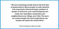 Founder of ebay #quotes
