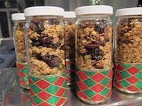 Healthy Holiday Granola {Perfect For Anytime Of The Year!}