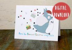 Le Bun's Christmas Gift Guide: Printable Cards