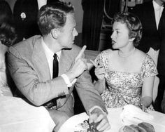 Van Johnson and Olivia de Havilland, Cannes Festival, May 1955 Golden Age Of Hollywood, Classic Hollywood, Old Hollywood, Just Good Friends, Best Friends, Dinner Theatre, Errol Flynn, Olivia De Havilland, British Actresses