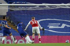 Jorginho howler allows Emile Smith-Rowe to steal vital win for Gunners who in doing the double over the Blues keep their European hopes alive. Chelsea Match, Chelsea Fc, Tammy Abraham, Hector Bellerin, Arsenal Premier League, Christian Pulisic, Mikel Arteta, Fa Cup Final, Own Goal