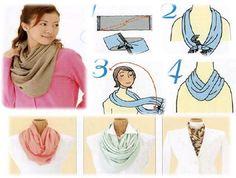 Moda inverno: pashminas, echarpes, lenços! Como usar?