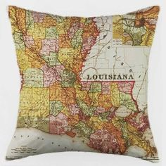 Louisiana Pillow -- Love!!!!