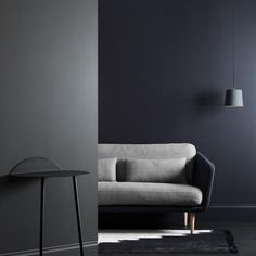 Haymes 2017 Colour Forecast. Pitch Dark is a palette of deep moody colours with a real sense of presence. They're dramatic, yet innately restful. People sometimes shy away from using dark tones within their home, however when used in a big space, dark tones sit perfectly with interior furnishings, offering a sense of grounding, security and balance.