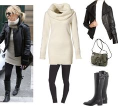 """cold weather outfit to try"" by alkichic ❤ liked on Polyvore"