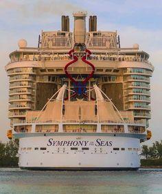 Symphony Of The Seas, Royal Caribbean Cruise, Cruises, Carnival, Nassau Bahamas, Cruise Ships, Videos, Don't Forget, Youtube