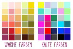 Welche Farbe passt zu mir? Warme und kalte Farben unterscheiden