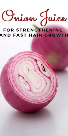 You may not believe it, but onion is one of the most efficient hair care products. It helps in treating damaged hair, split ends and hair loss. Onions are rich in sulfur, known for its ability to nourish the roots and thus speed up the hair growth. Natural Cough Remedies, Natural Health Remedies, Natural Cures, Natural Healing, Herbal Remedies, Home Remedies For Hair, Hair Remedies, Onion Juice For Hair, Grow Natural Hair Faster