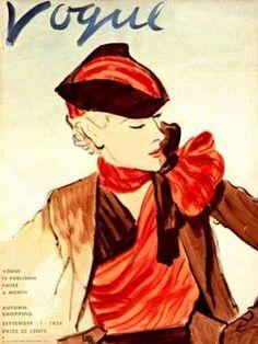Vintage Vogue magazine covers - mylusciouslife.com - Vintage Vogue covers14.jpg